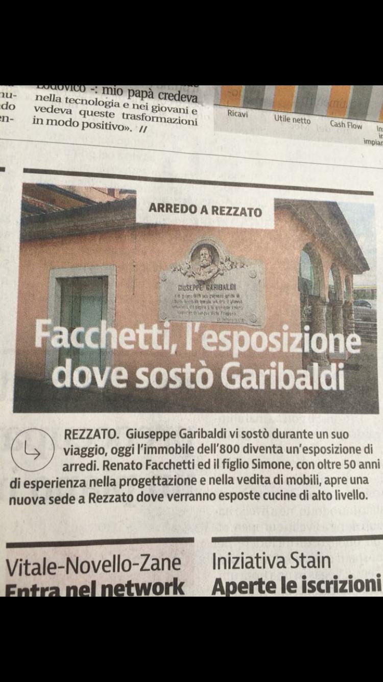 Giornale Facchetti Brescia